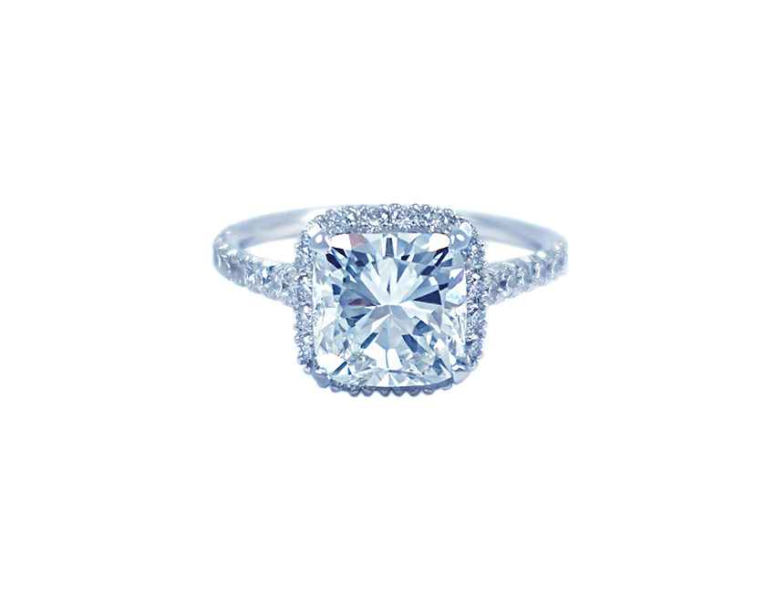 Adore Cushion Engagement Ring
