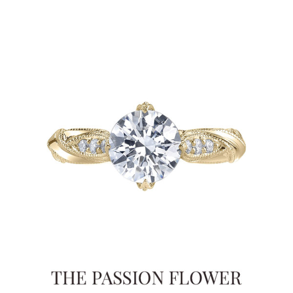Explore the Passion Flower Ring on Scout Mandolin.