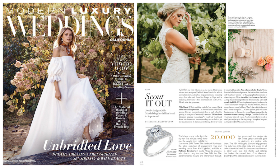 Scout Mandolin Founder Julie Martin, Scout Mandolin Founder Julie Martin Featured on Modern Luxury Weddings California