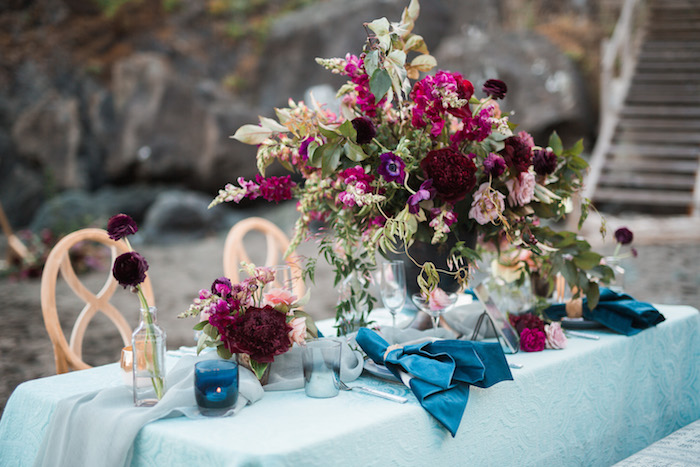 Romantic Coastal Wedding Ideas Featured on Every Last Detail1